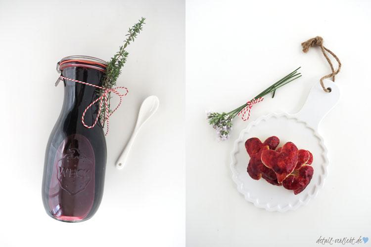 www.detail-verliebt.de: Holunderbeeren sind ein Geschenk der Natur. In Rezepten wie Holunderbeerensirup und Holunderbeerengelee sind sie so gesund und so lecker.