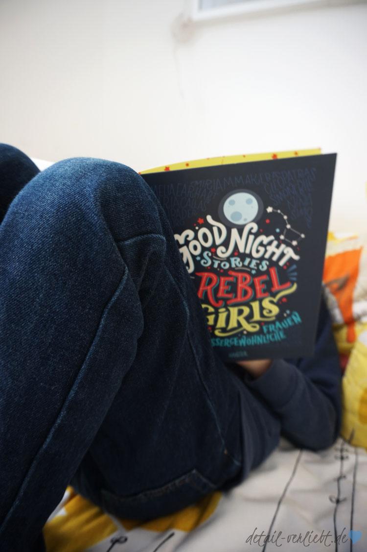 www.detail-verliebt.de: 100 Good Night Stories for Rebel Girls – Inspiriere Mädchen, größer zu träumen mit 100 Porträts von bemerkenswerten Frauen.