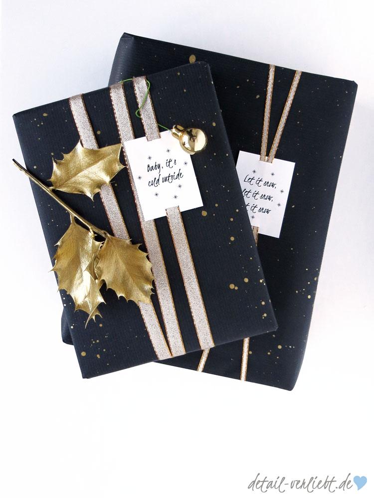 www.detail-verliebt.de: Für mich fängt das Schenken mit dem Einpacken ein. Eine aufwendige Geschenkverpackung wertet jedes Geschenk auf – ob es nun großzügig oder bescheiden ist.