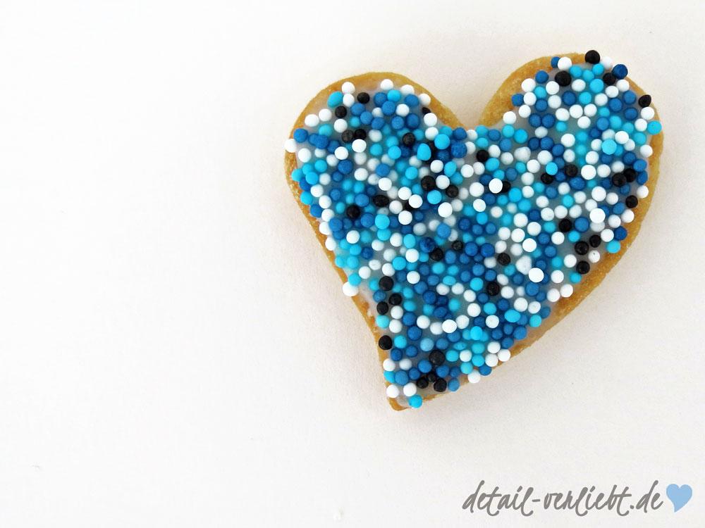 Herz-Keks detail-verliebt