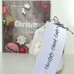 """Geschenk mit Buch """"Merry Christmas"""""""