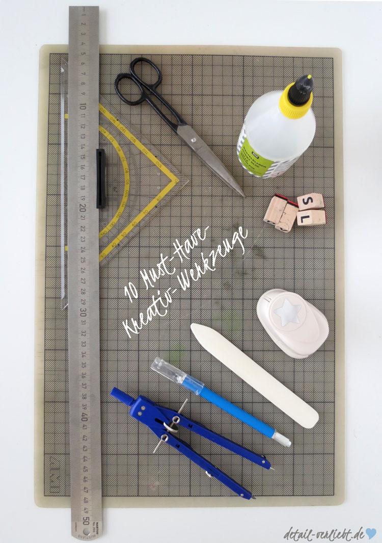 10 Must-Have Kreativ-Werkzeuge