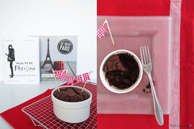 www.detail-verliebt.de: Der Pariser Savoir-Vivre ist über die Grenzen Frankreichs bekannt. Tarte au Chocolat Rezept mit nur 5 Zutaten: lecker, einfach und mit Suchtpotential!