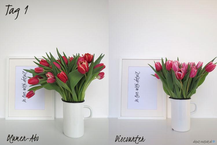 Blumentest Tag 1