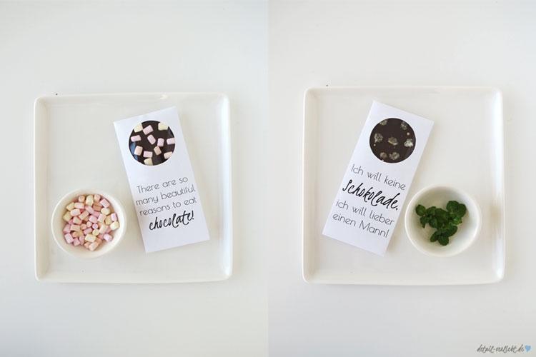 Schokolade selber machen ist ein tolles DIY Geschenk für Weihnachten, eine Geschenkidee zum Geburtstag und einfache DIY Geschenkidee zur Hochzeit oder zu jedem anderen Anlass.