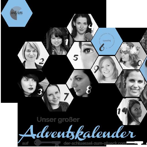 Wer hat mitgeholfen, den großen Blogger-Adventskalender 2015 zu füllen? 25 Blogger, 25 Türchen, 25 mal DIY, Dekoration, Geschenke aus der Küche.