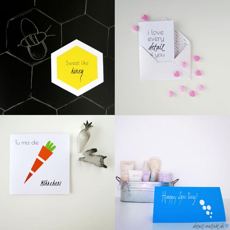 """www.detail-verliebt.de: Grußkarten mit raffiniertem Klapp- oder Drehmechanismus oder einen interessantes Detail im eBook """"Grüße verschenken""""! Blog-Jahresrückblick 2015: Backen, DIY, Geschenke aus der Küche, Bücher, Sweet Table und Blumen"""