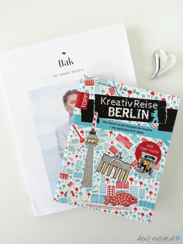 Magazin Oak und Kreativreise Berlin