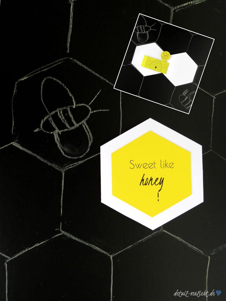 Sweet-like-honey-Grußkarte
