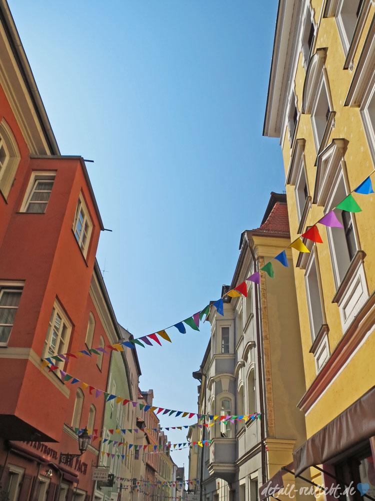 Wimpelketten in Regensburg