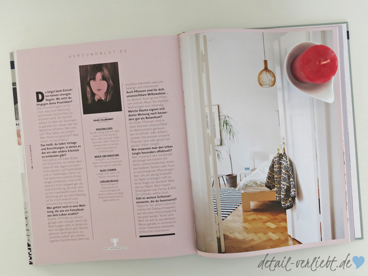 """www.detail-verliebt.de: Einrichtungstrends für 2016/2017 gibt es im Wohnbuch """"Best of Interior"""". Wer keinen Trend verpassen möchte, für den ist das Buch ein Muss."""