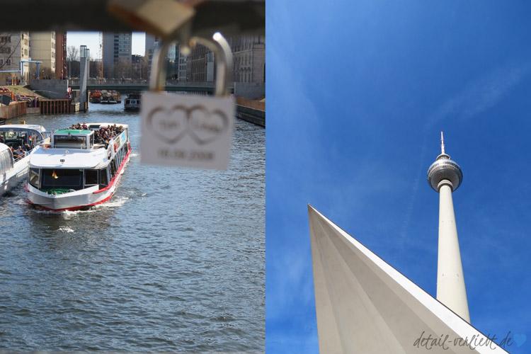 Schiffahrt und Fernsehturm: Berlin hat viel zu bieten!