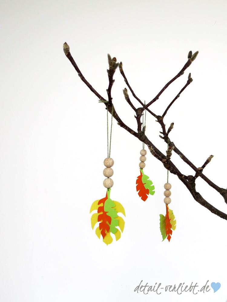 www.detail-verliebt.de: Ostern im Tropical-Leaves-Look macht gute Laune und passt perfekt. Das Beste: Auch nach Ostern ist die Dekoration wie geschaffen für die Frühlingszeit!