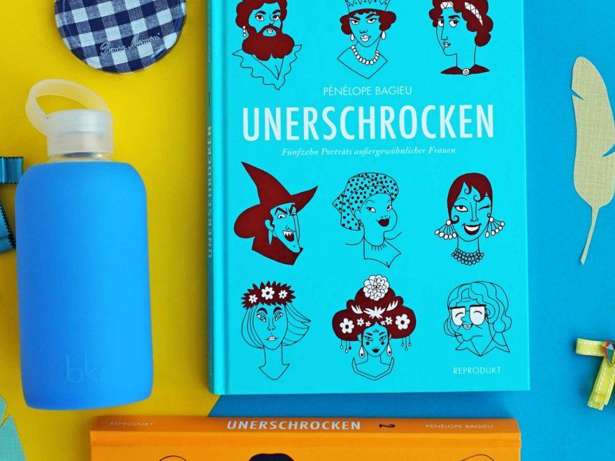 """www.detail-verliebt.de: Auf der Suche nach außergewöhnlichen Frauenportraits? Weibliche Vorbilder im Comic-Buch """"Unerschrocken"""" von Pénélope Bagieu sind klug, stark und unabhängig."""