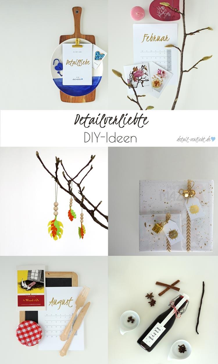 www.detail-verliebt.de: Alle Inspirationen und alle Trends 2017 in einem Jahresrückblick: detailverliebte DIY, detailverliebte Naschereien, detailverliebte Bücher und vieles mehr.