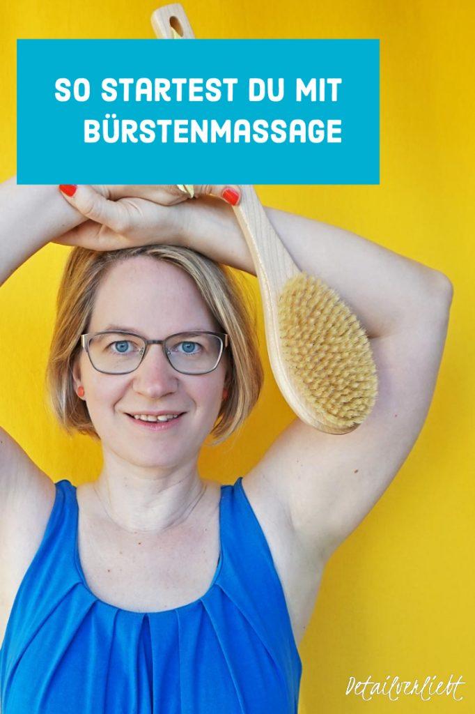 www.detail-verliebt.de: Dry Brushing (auch Bürstenmassage oder Trockenbürsten genannt) ist ein Ritual, das mich aufweckt, die Haut pflegt und gleichzeitig einen Beitrag zu meiner Gesundheit leistet.