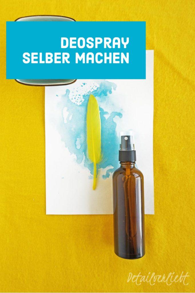 www.detail-verliebt.de: Einfaches Rezept für ein wirksames und hautfreundliches DIY Deo selber machen mit 4 natürlichen Zutaten ohne Aluminium, Zero Waste und vegan.