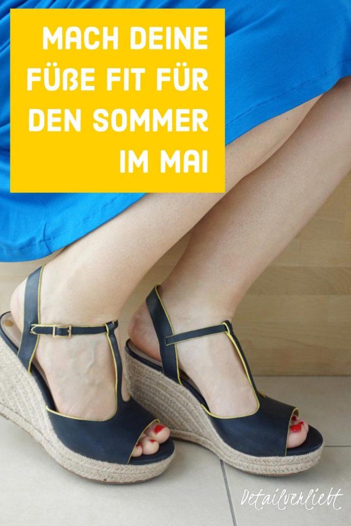 www.detail-verliebt.de: Füße fit für den Sommer  – Tipps und Tricks für streichelzarte Füße: Fußpeeling, Fußcreme, Fußbäder und Fußübungen. Gepflegte Füße schnell und einfach.