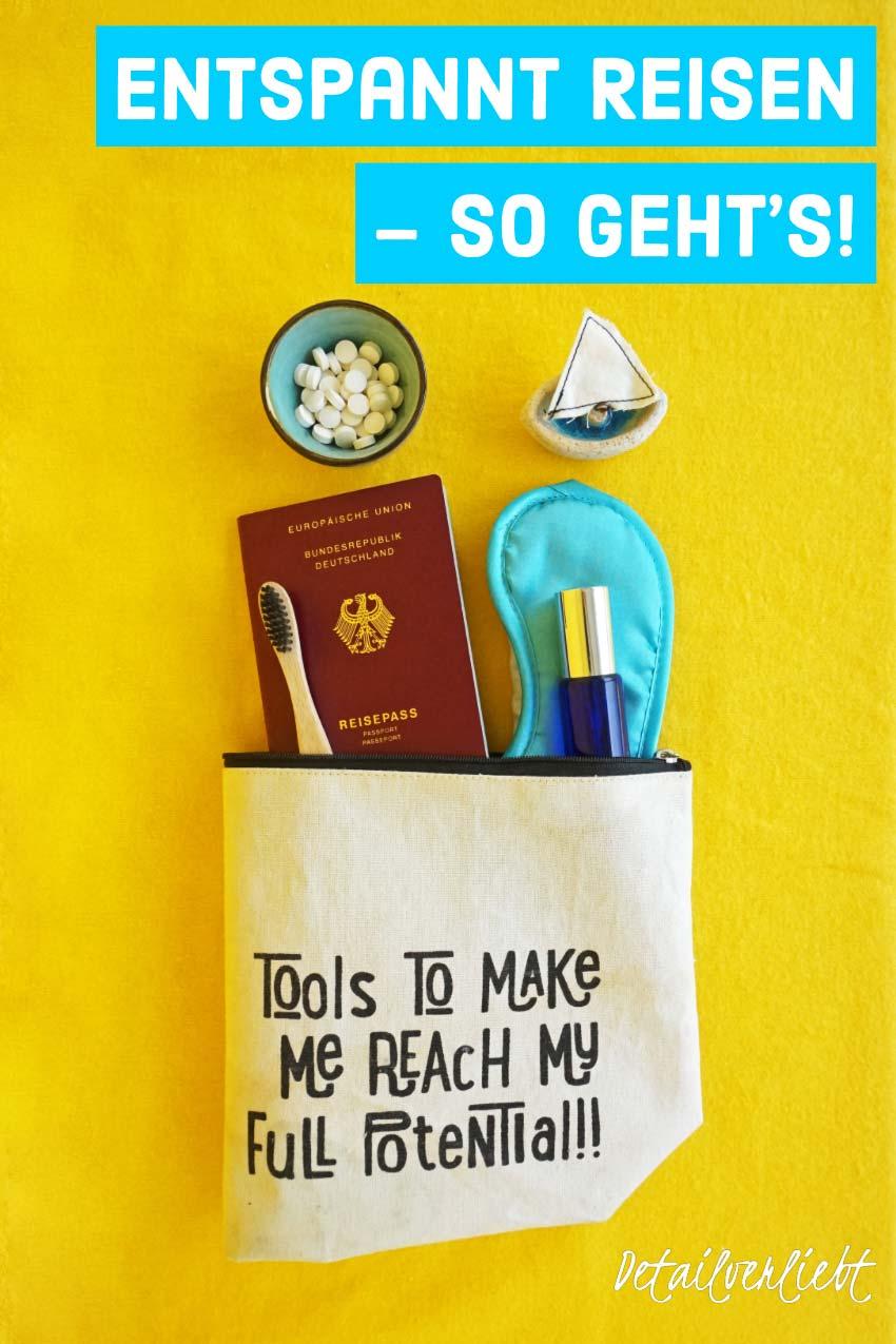 www.detail-verliebt.de: Entspannt #Reisen und optimal vorbereiten auf Langstreckenflug, lange Autoreise oder lange Bahnreise: Tipps um entspannt, gesund und fit bleiben im #Urlaub. #unterwegs #selfcare #zerowaste #urlaub #entspanntreisen