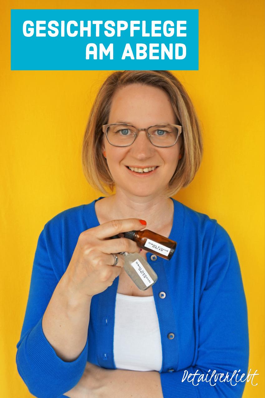 www.detail-verliebt.de: Es braucht nicht viel um seine Haut schön und gesund zu pflegen. Eine minimalistische Hautpflegeroutine für das Gesicht am Abend ist in unter 5 Minuten erledigt.