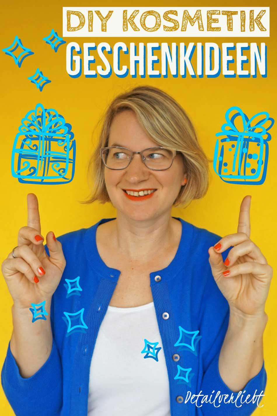 www.detail-verliebt.de: Kosmetikgeschenke selber machen: Sie sind ruckzuck nachgemacht, passen für jeden und sind dabei noch nachhaltig – zu Weihnachten, Nikolaus, JGA oder so. #geschenk #diygeschenk #diykosmetik #weihnachtsgeschenk #Geschenkfürdiefreundin #geschenkfürmama